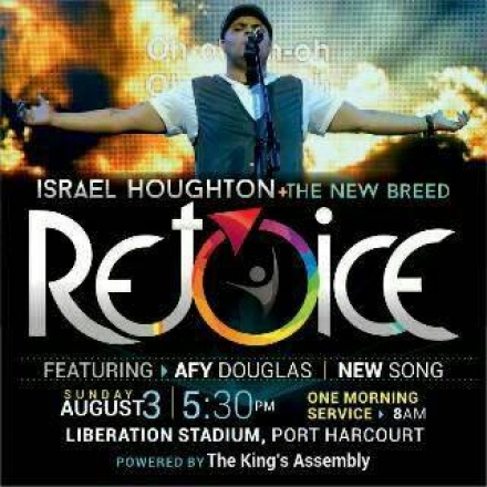 GOSPELPH- REJOICE -Israel Houghton & New Breed